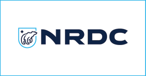 Official logo of the Natural Resources Defense Council (NRDC).