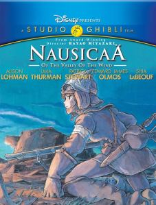 DVD cover of Nausicaa Of The Valley Of The Wind from Hiyao Miyazaki.