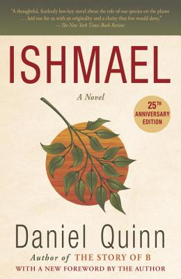 The book cover for Ishmael by Daniel Quinn.