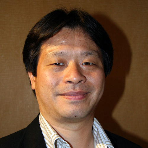 A headshot of Yoshinori Kitase.