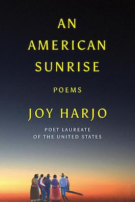 The book cover for An American Sunrise by Joy Harjo.