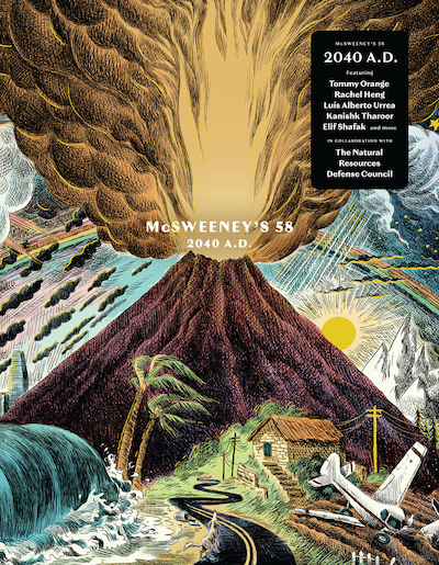 The cover for McSweeney's Issue 58: 2040 A.D.