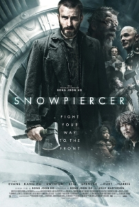 The official movie cover for Snowpiercer from Bong Joon Ho.