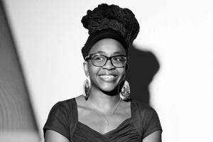 Portrait photo of author Nnedi Okorafor.