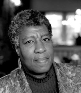 A portrait photo of author Octavia E. Butler.