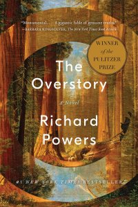 The US book cover of The Overstory by Richard Powers.