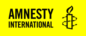The official logo for Amnesty International.