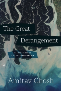 The official book cover for The Great Derangement by Amitav Ghosh.