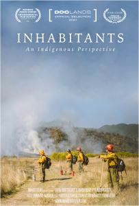 The official cover for Inhabitants: An Indigenous Perspective.